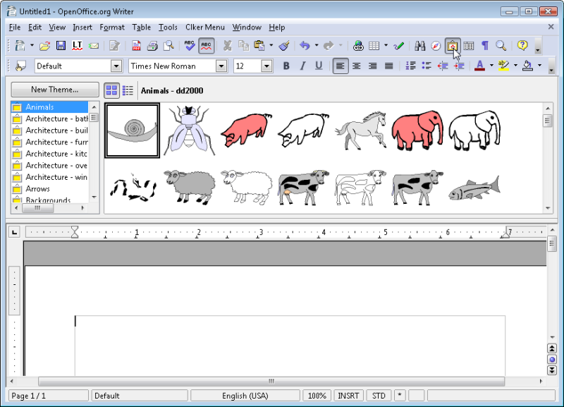 Figure 1, managing clipart