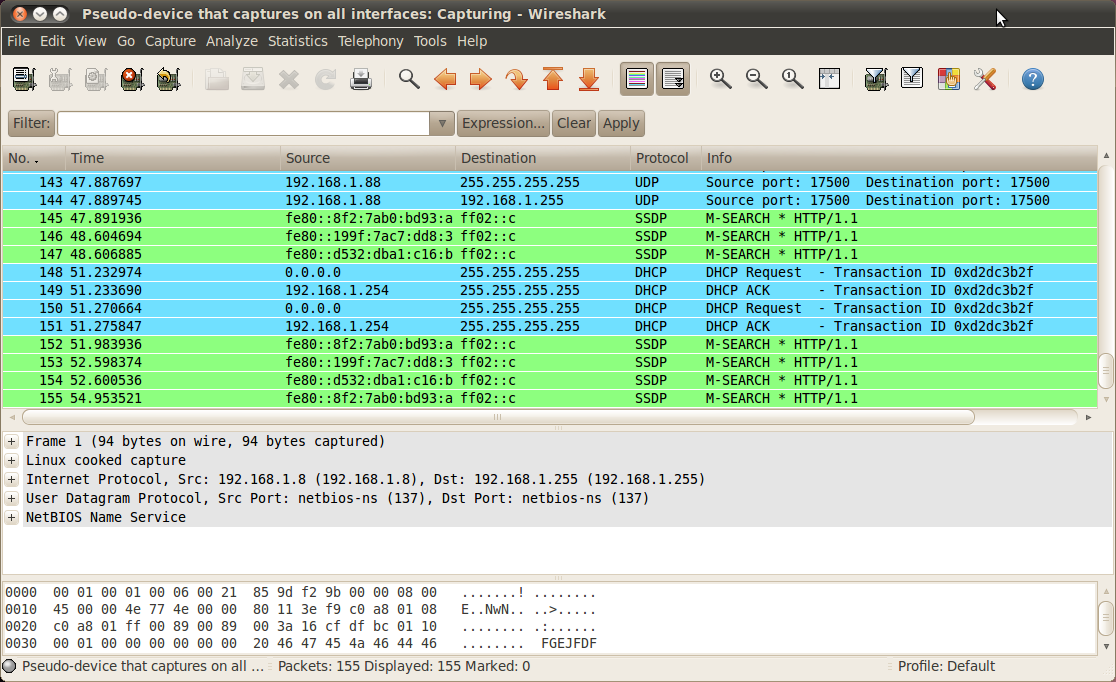 <em>Wireshark</em>