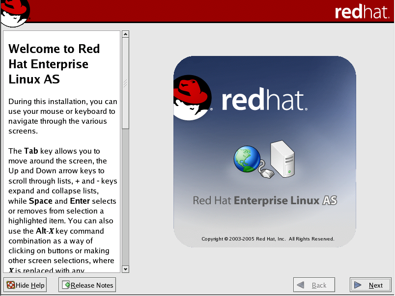 Figure 1: The Installer's Welcome Screen