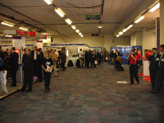 Figure 1: The show floor.