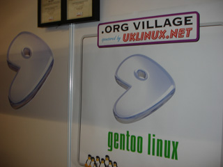 Figure 5: Gentoo at the .org village.