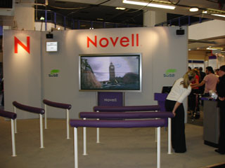 Figure 4: The Novell presentation area.