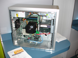 Figure 2: Inside an Ultra 20.