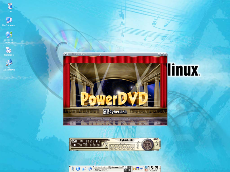 Figure 5: PowerDVD Starting Up
