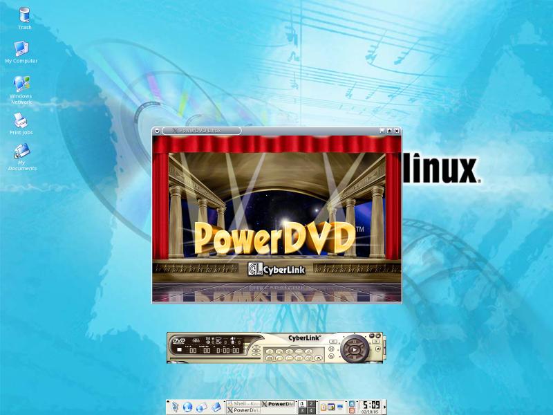 Figure 5: PowerDVD Starting Up