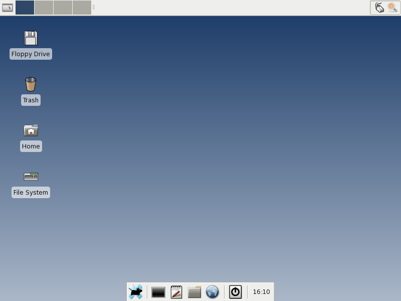 Figure 1: The Xfce Desktop