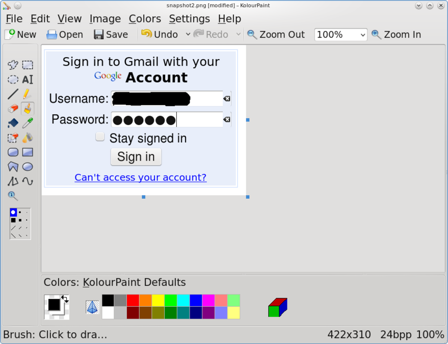 8 great paint programs for linux the basics photos