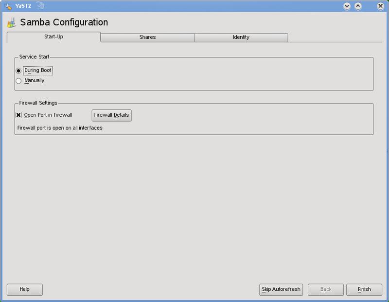 Samba Configuration