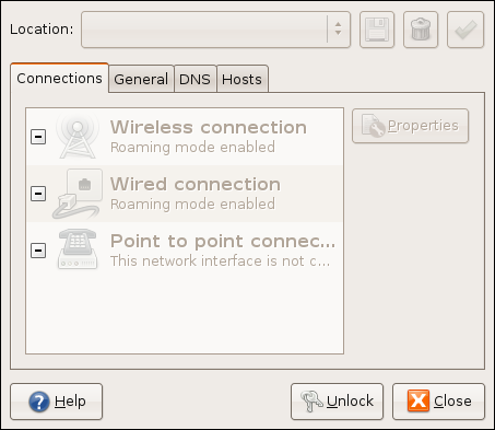 Figure 4: Network Settings