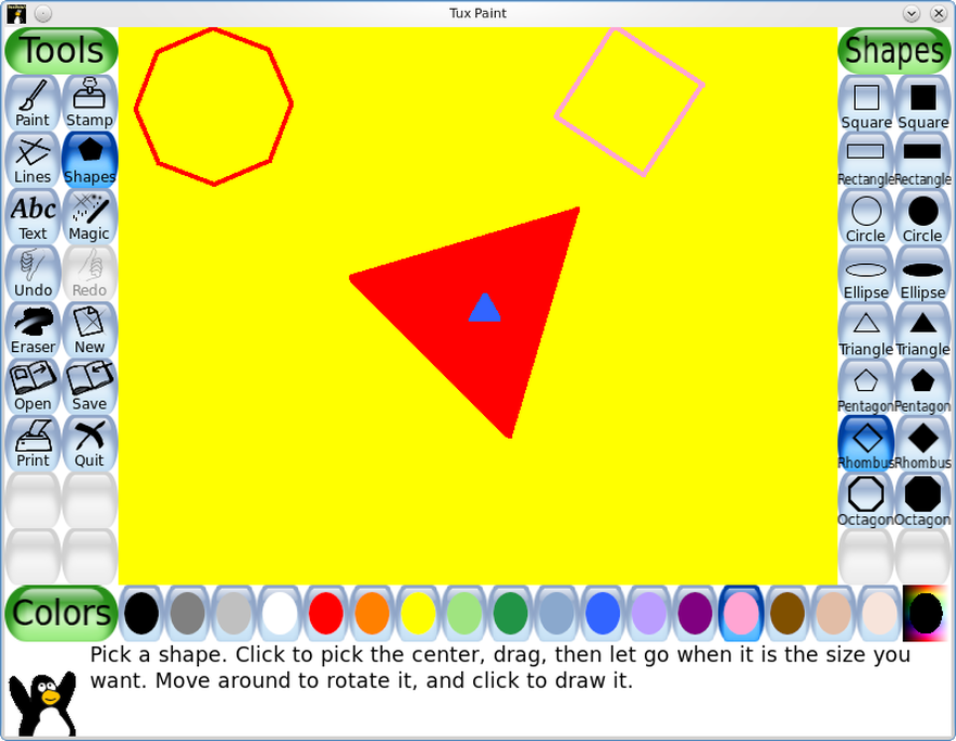 8 great paint programs for linux the basics photos Paint for linux