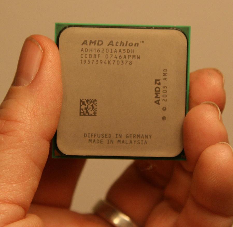 Nice cleaned up CPU, all gunk gone