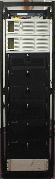 Figure 2. The Beowulf cluster at ImageLinks.