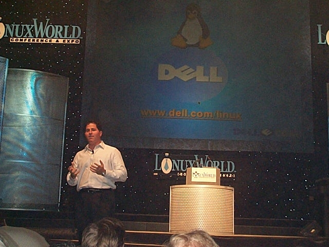 Dell at a Q&A