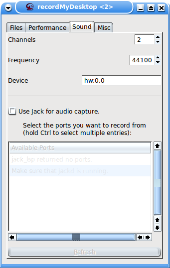 Figure 2: This is how it looks for a single soundcard.