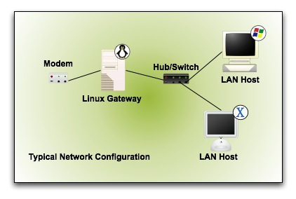 Figure 1: The penguin marks the spot for your Linux appliance.