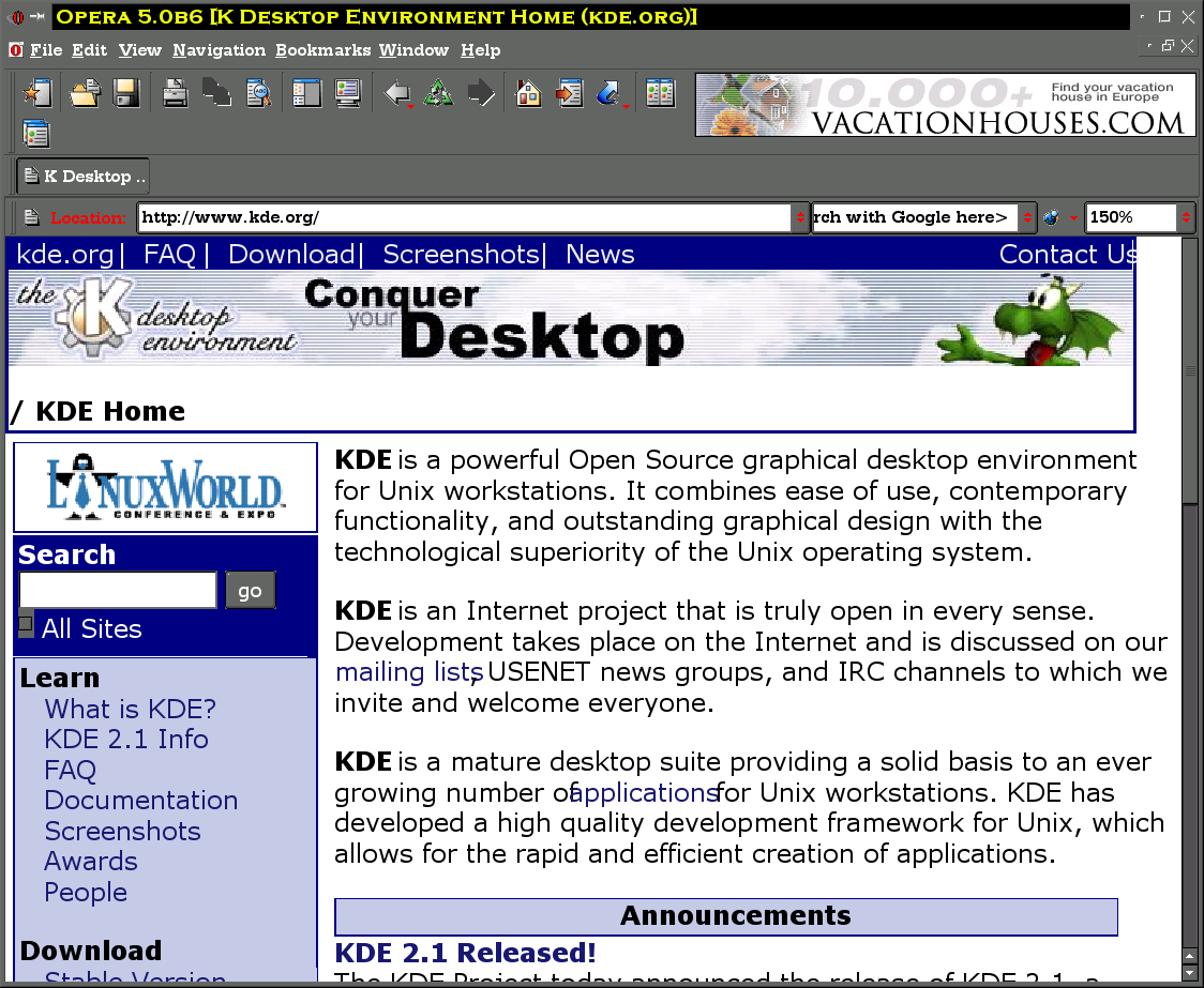 Opera, based on QT, inherits anti-aliasing, as does Konqueror.