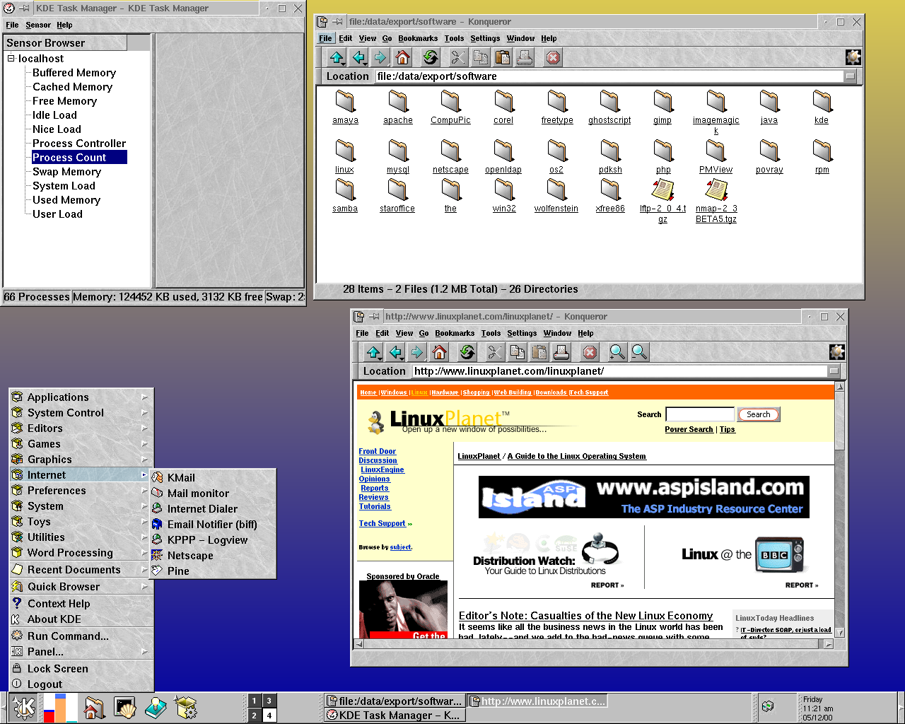 Figure 1: KDE in action