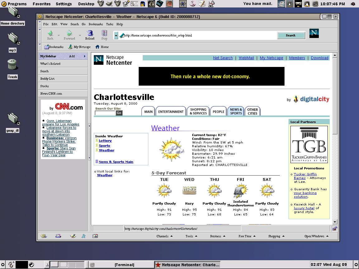 Netscape Classic