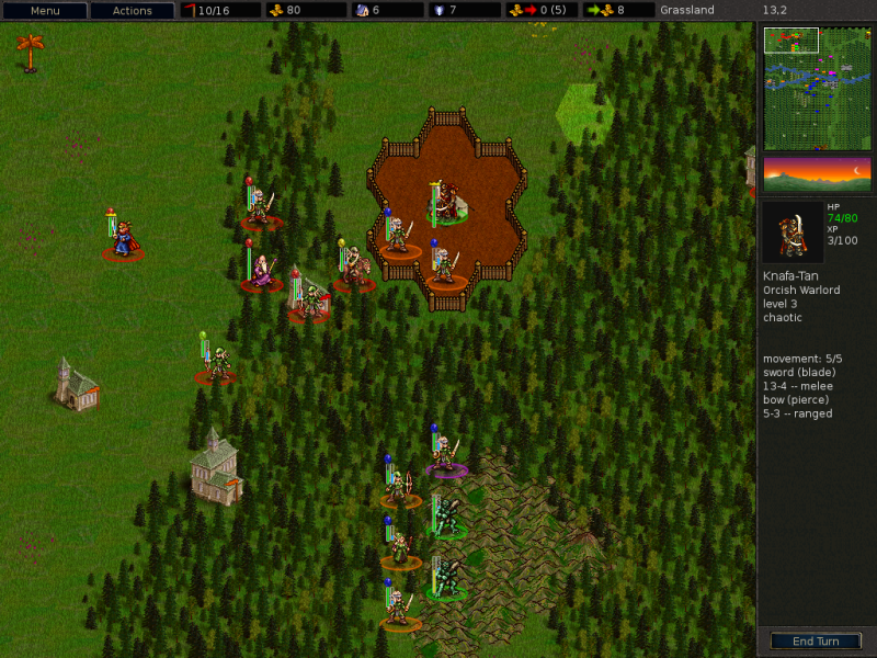 Figure 1: The Battle for Wesnoth